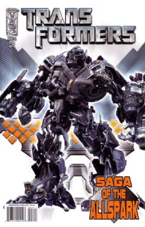 Transformers Saga of the Allspark #3 Cover B (2008) IDW Publishing comic book